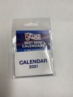 2021 Mini Calendars 5 per pack Stix 2