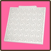 Daisy Texture Design Silicone Mat DM9 Katy Sue Designs