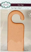 MDF Door Tags Pack of 2 Creative Expressions CEMDFDOOR