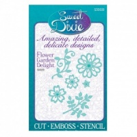 Flower Garden Delight Die Set Sweet Dixie SDD039