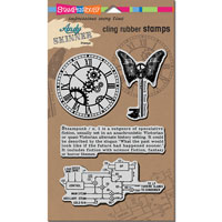 Steampunk Cling Stamps Andy Skinner Stampendous ASCRS02