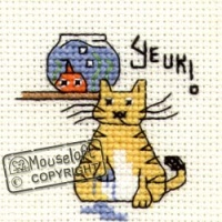 Biscuit The Cat Yeuk Mouseloft Cross Stitch Kit