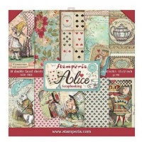Alice Scrapbooking Pad Stamperia SBBL52