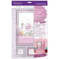 Baby Girl Card Kit Hunkydory