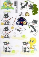 Baby Sylvester 3D Decoupage Baby Looney Tunes Colection