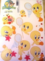 Baby Tweety Baby Looney Tunes 3D Decoupage Sheet BLT003