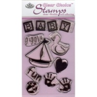 Bathtime Clear Choice Mini Stamp - MIN-CCS119