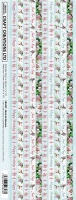 Birds In Blossom Border Stickers CB044P