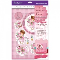 Birthday Girl Cardmaking Kit Handmade By You Collection Hunkydory Crafts  HBY04