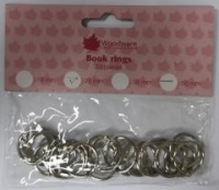 Book Rings 25mm 24 per pack WW2843