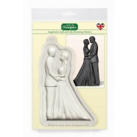 Bride and Groom Mould Katy Sue Designs