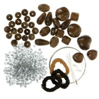 Brown Knotted Cord Kit Beaders Companion THH-225