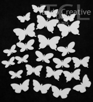Butterflies Chipboard Tando Minis TMBTFLIES