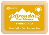Butterscotch Adirondack Earthtones Raised Felt Dye Ink Pad ASP00877