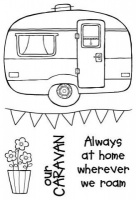 Caravan Clear Stamp Set JGS516
