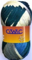 Cewec Maya Shade 15 Lemon Blue Grey Petrol 200g Ball
