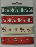 Christmas Ribbon Assortment 4 x 2m 55089-1