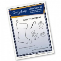Claritystamp Christmas Stocking & Toys Stamp Set & Mask