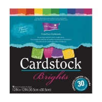Coredinations Core Essentials Brights 12'' x 12'' Paper Pad
