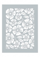 Country Garden Bouquet Stencil Dawn Bibby Collection DBST02