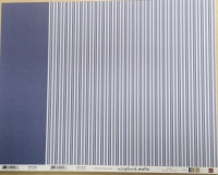 Denim Stripe Scrapbook Walls 20216