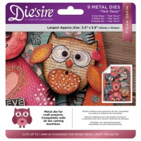 Die'sire Mixed Media Dies Twit Twoo