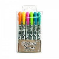 Distress Crayons Set #1 Ranger Ink TDBK47902