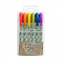 Distress Crayons Set 2 Ranger Ink TDBK47919