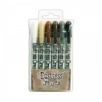 Distress Crayons Set 3 Ranger Ink TDBK47926