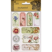 Enchanted Collection Chipboard Stickers AC0156E
