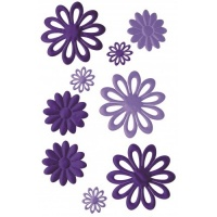 Fab Flowers Violet Colour Connection AC0130V