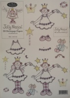 Fairy Girl Decoupage Sheet Jolly Nation 88501