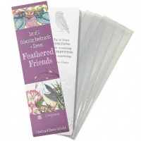 Feathered Friends Bookmarks and Sleeves