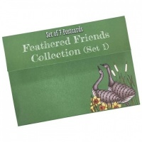 Feathered Friends Postcard Collection Set 1