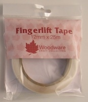 Fingerlift Tape 12mm x 25m Woodware 2811