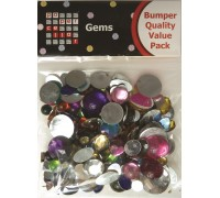 Flat Backed Gems Bumper Pack TSBG02