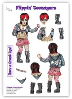 Flippin Punk Rock - Flippin' Teenagers Decoupage - La Pashe