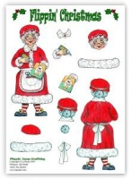 Flippin Xmas Crafting DIE-CUT (with free insert) - Flippin' Christmas - La Pashe