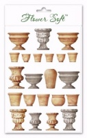 Flower Soft Garden Pots and Urns