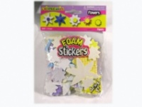 Flowers Foam Stickers 112pcs Creative Hands FC2237