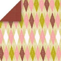 Garden Argyle Scrapbook Walls 24505