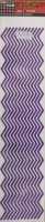 Glitter Zigzag Borders Purple