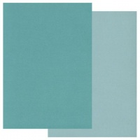 Groovi A5 Teal Coloured Parchment Paper