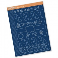 Groovi Christmas Cracker Template GRO-TE-40436-16