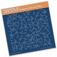 Groovi Sprig Background Plate A5
