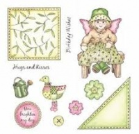 Helene Patchwork Polly and Friends Stamp Set
