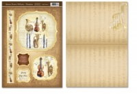 High Notes Autumn Dreams Toppers with Free Card Blanks HD48126