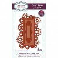 Industrial Chic Frame and Tag Die Set CED25006