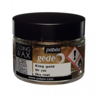 King Gold Gilding Wax Pebeo 30ml Pot