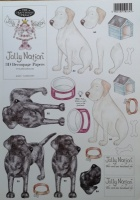 Labradors Decoupage Sheet 40401